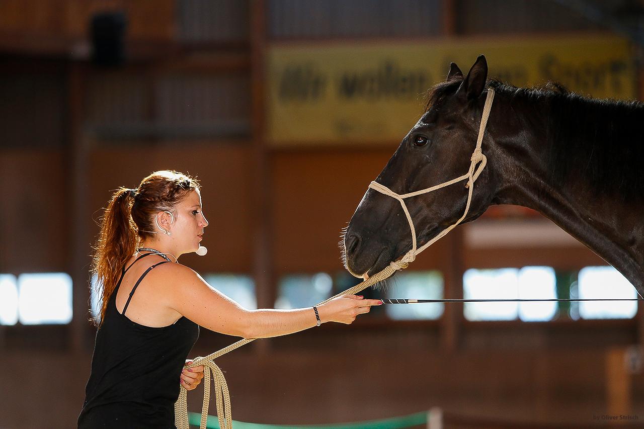 Gilliane Senn französische Pferdetrainerin